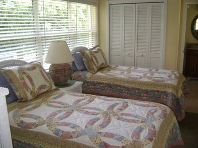 Fourth Bedroom, two twin beds