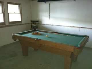 Barnstead house photo - Pool table (in addition to the ping pong table) in the 1st floor game room.