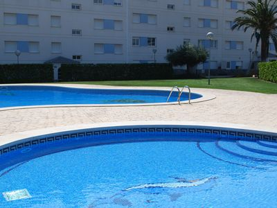 L'Ampolla apartment rental - childrens pool and main pool