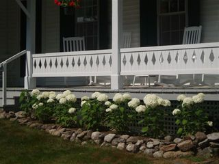 Franconia house photo - Front Porch