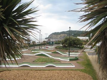 Crazy Golf on Shanklin esplanade