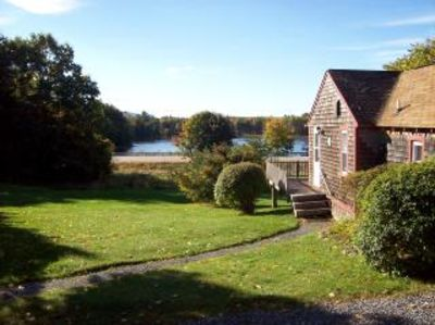 Bar Harbor cottage rental - The Cottage faces Hamilton Pond