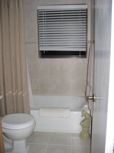 Your residence features, tastefully decorated baths- Clean and Comfortable decor