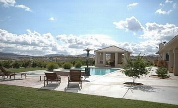 San Diego estate rental - Relax by the pool w spectacular mtn valley views!