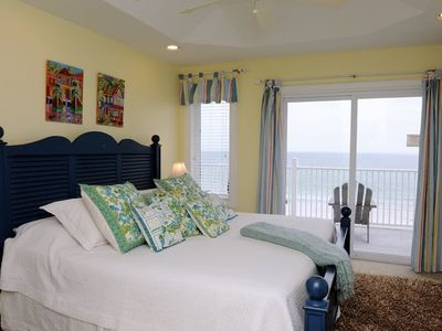 Bedroom #4 with ocean views.