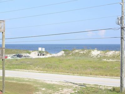 Actual view from Sundeck - Beach Access just a few yards away!
