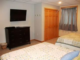 Wisconsin Dells house photo - Fifth Bedroom with TV/DVD