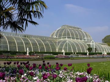 Kew Gardens 10mins away by train