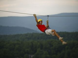 Basye chalet photo - NEW! Bryce Resort's Zipline course