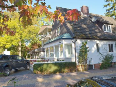 3-room apartment for 2-4 people, directly on the beach, centre of Timmendorfer