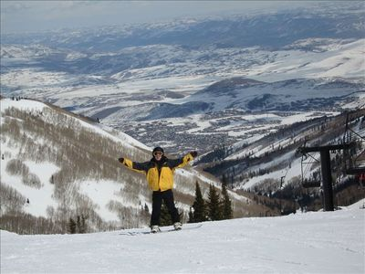 Welcome to Park City! - For more photos check out our web site www ParkCityFlat
