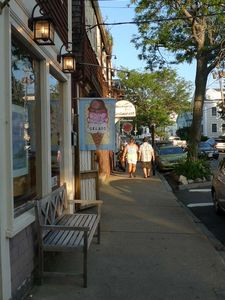 A summer stroll on Mt. Pleasant Street, Rockport.