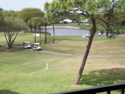 Golf Course and Lake View