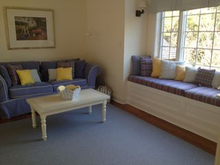 East Hampton house photo - Loft with queen size pullout couch and TV.