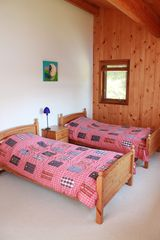 Pender Island house photo - second upstairs bedroom (kids' bedroom)
