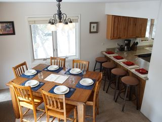 dining for 10 with easy access to kitchen and living room. - Fraser house vacation rental photo