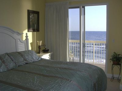 Master Bedroom with Wave Crashing View!