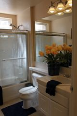 Carlsbad condo photo - 2nd Bathroom (shower over tub with glass enclosure)