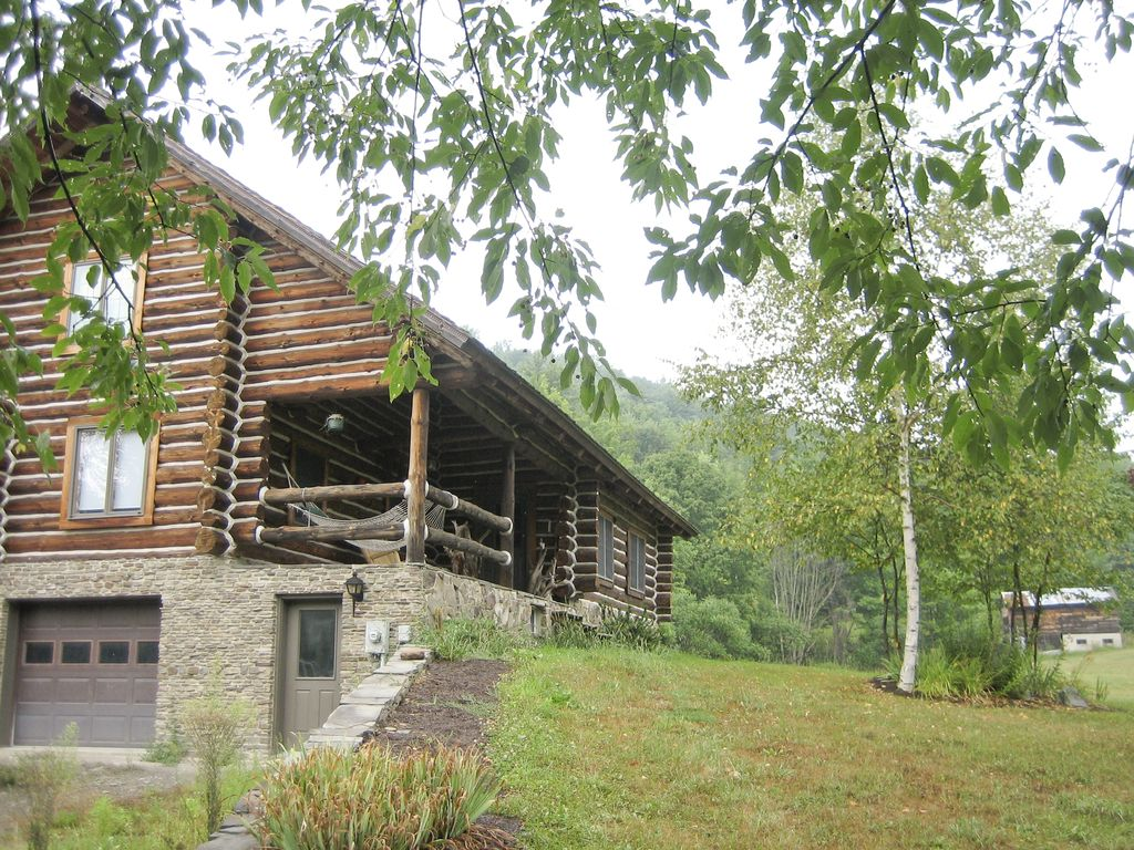 Fallview cabin pa grand canyon wellsboro vrbo for Lake cabin rentals pennsylvania