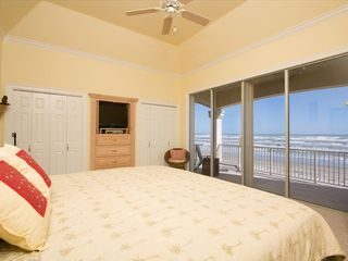 South Padre Island house photo - Master Bedroom with ocean view