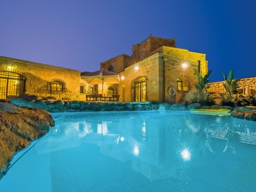 Zejtun villa rental - Pool Area