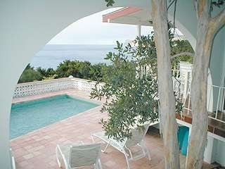 Montserrat villa rental - View from master bedroom
