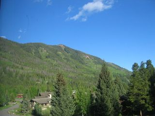 Vail condo photo - Summer View from Living Room