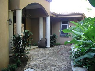 Playa Hermosa house photo - Front Door Courtyard