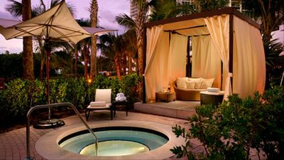 Imagine spending the day in a private Cabana....