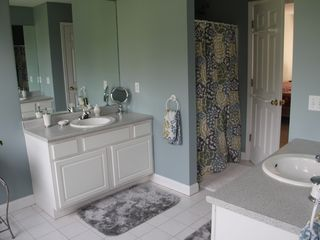 New Paltz house photo - Master Bathroom - 2 sinks & vanities