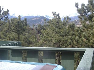 Mountain Views From The Hot Tub Daytime-Beautiful Starry Skies At Night!