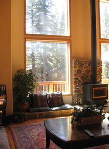Northstar house rental - Living room view