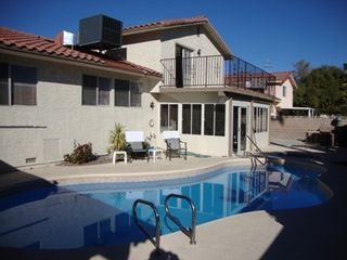 Las Vegas house photo - pool,spa,florida room / conservatory, balcony,