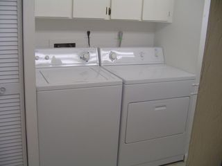 Naples condo photo - Washer Dryer in large laundry room