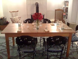Coxsackie farmhouse photo - dining table
