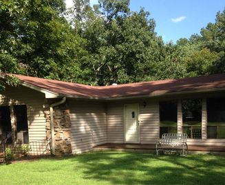 Greers Ferry Lake house rental - Front of House