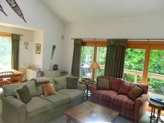 Carrabassett Valley condo photo - Living room area