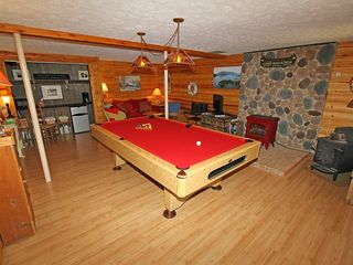 Huddleston house photo - Pool Table and Game Room Area