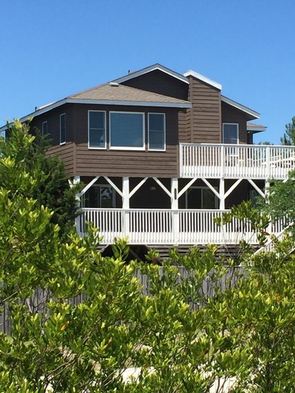 Corolla Beach Houses Part - 27: Charming Cottage 2 Blocks From The Beach
