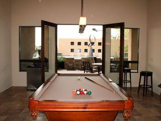 Mesa house photo - Pool table with with entrance to patio & pool area