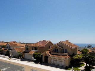 Dana Point house photo - Ocean view deck from upstairs balcony