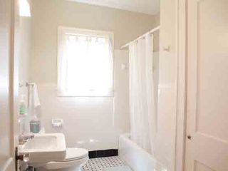 Austin house photo - Guest bathroom featuring VERB haircare products and full-length bath towels
