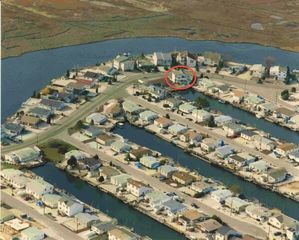 Manahawkin house photo - House is located in the red circle