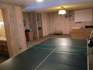 Quechee house photo - Downstairs Ping Pong Table/ Rec area