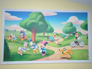 Windsor Hills townhome photo - Mural in the Kids' Room