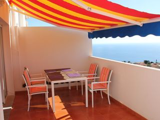 Canico apartment photo - Sunny and big terrace with seaview