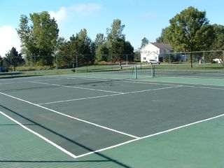 Saratoga Springs townhome photo - Two Tennis Courts