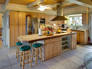 Kapoho house photo - Completely Supplied Open Gourmet Kitchen