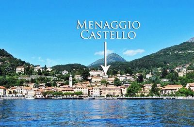 Menaggio town and lakeside is only a 5 minutes walk from the apartment