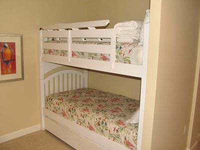 Splash Resort condo rental - Bunks With Trundle Underneath